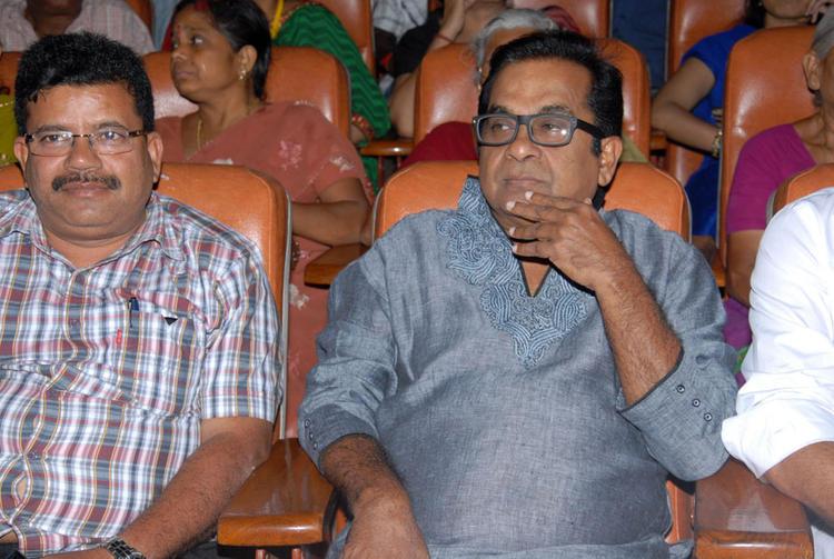 Brahmanandam Sanmanam at Sri Nagarjuna Degree College In Hyderabad