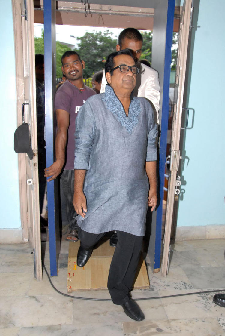 Brahmanandam Spotted at Teachers Day Celebrations