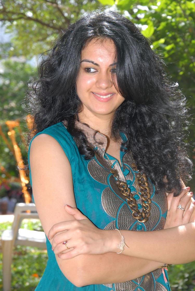 Kamna Jethmalani at Band Balu Movie Opening Event