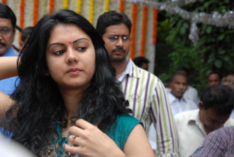 Kamna Jethmalani Spotted at Band Balu Movie Launch Event