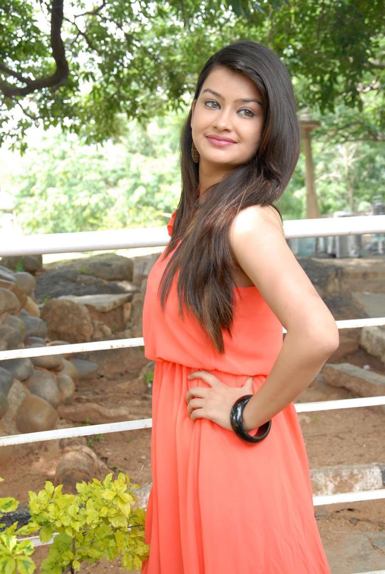 Chandini Photo at Devadas Style Marchadu Launch
