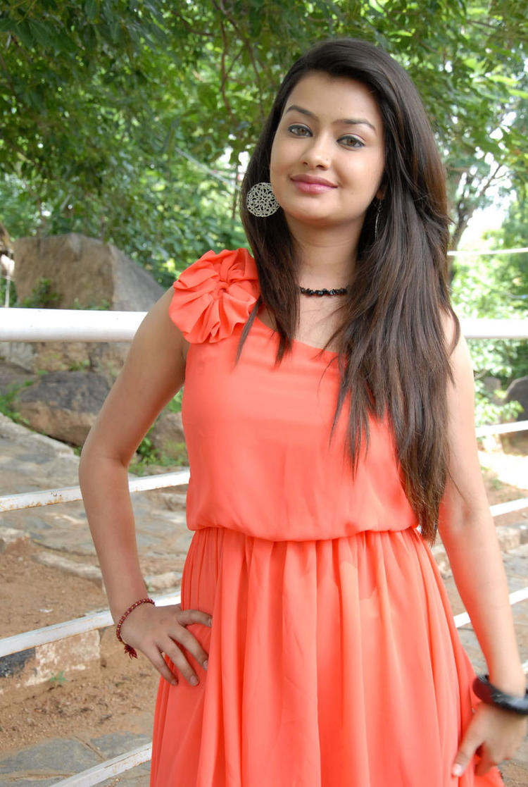 Chandini Sweet Pose at Devadas Style Marchadu Launch