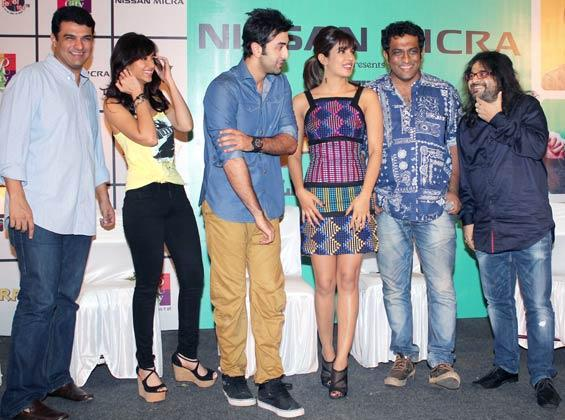Casts Promotes Their Film Barfi at R City Mall in Ghatkopar