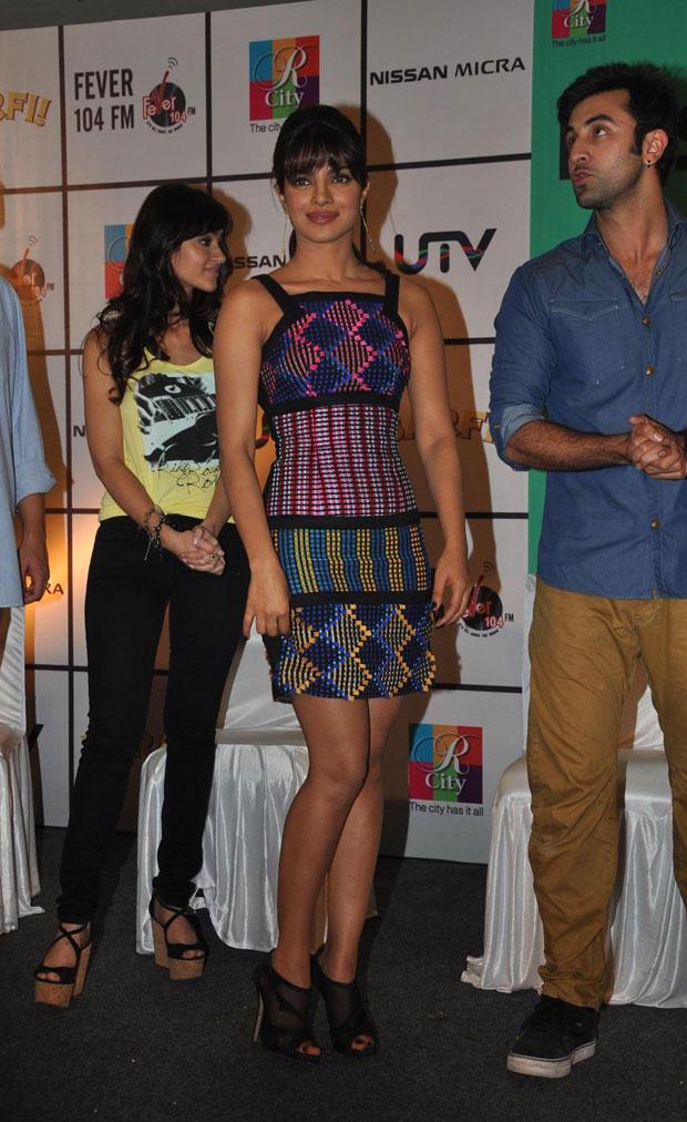 Priyanka Chopra Sexy Pose During Barfi Promotion In R City Mall