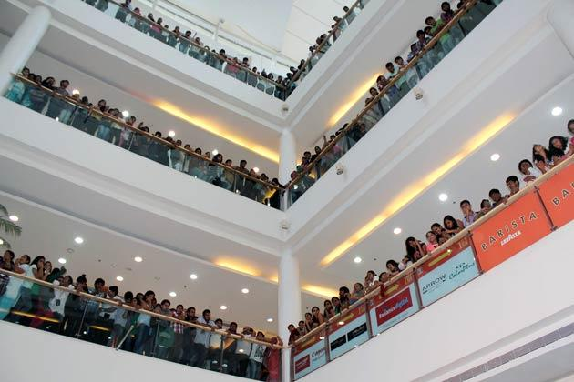 Upcoming Hindi Movie Barfi Promotional Event Held at R City Mall in Ghatkopar
