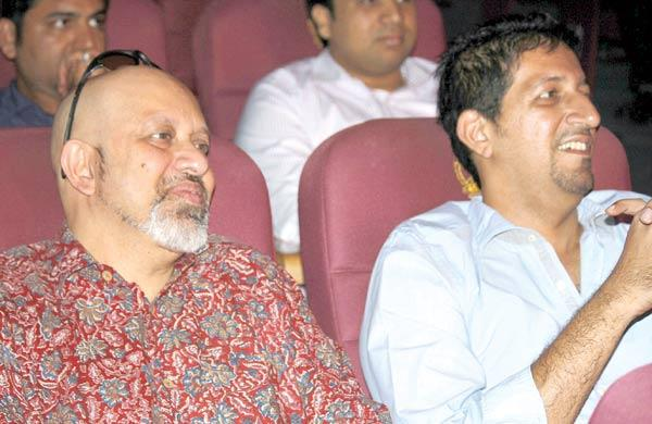 Loy Mendonsa and Suleiman Merchant at A Musical Event For Lord Ganesha