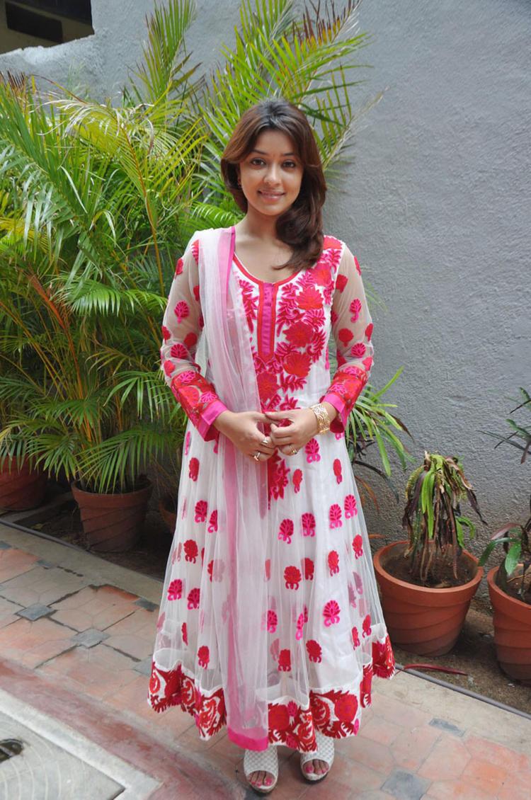Payal Ghosh Looking Beautiful In Churidar at Therodum Veedhiyile Movie Audio Launch