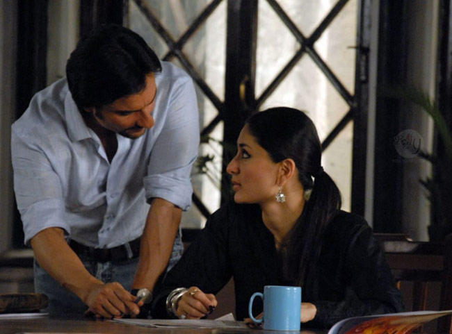 Saif and Kareena In Kurbaan Movie