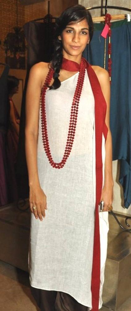 Anushka Manchanda at Payal Khandwala's Collection Launch in Good Earth