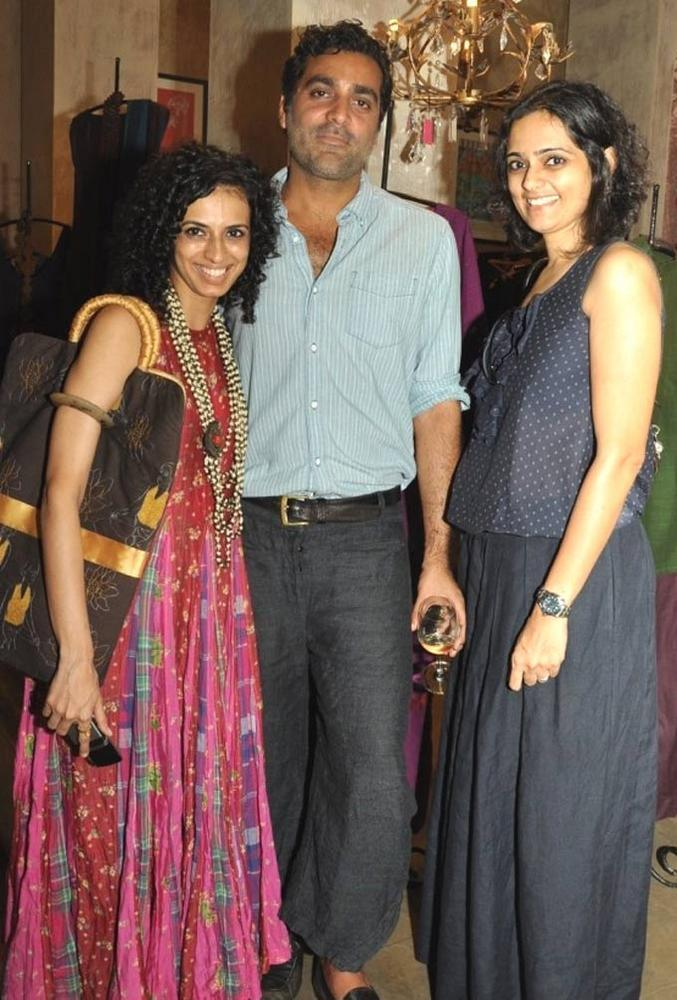 Aparna,Arjun and Priyadarshini at Lifestyle Store Good Earth