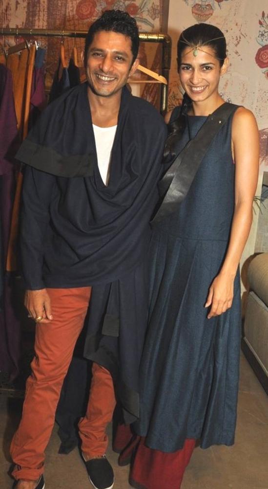 Yudi and Tara D'Souza at Payal Khandwala's Collection Launch in Good Earth