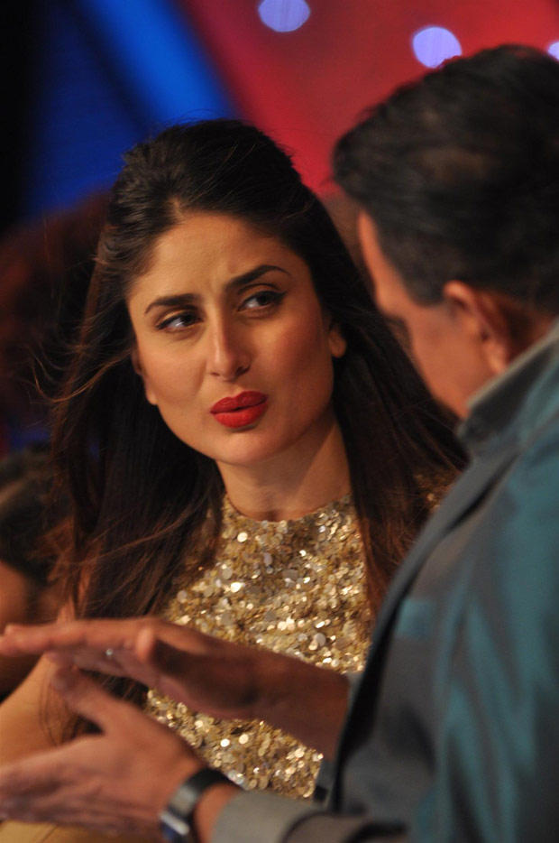 Kareena and Mithun Discussion Still During Heroine Promotion At DID Dance Ke Superkids