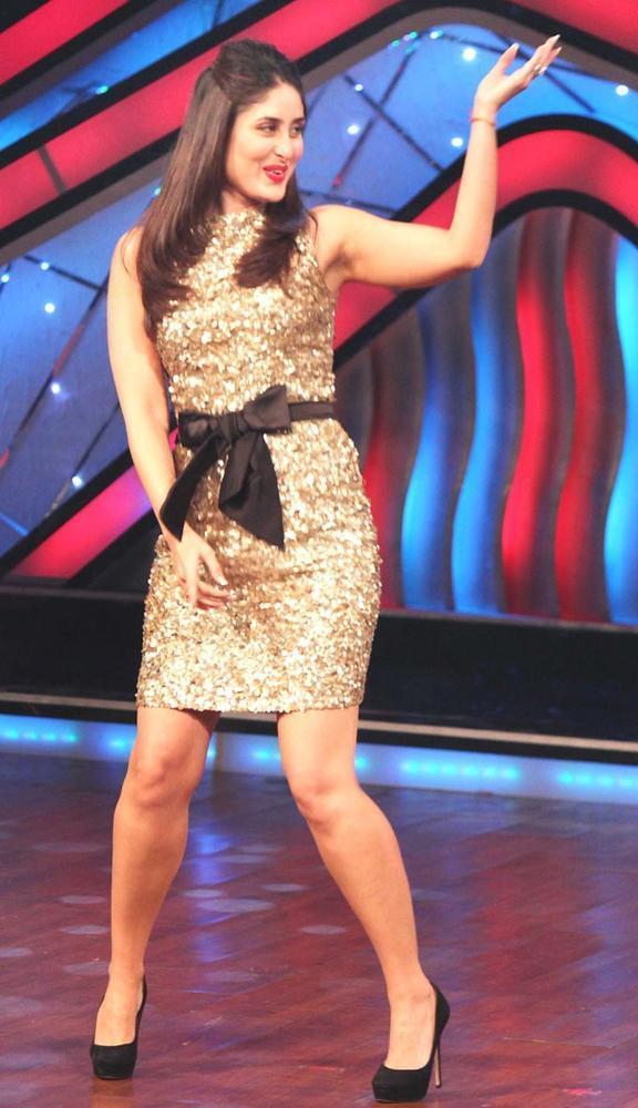 Kareena at DID Dance Ke Superkids Reality Show For Heroine Promotion