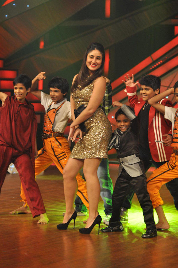Kareena Sizzling Performance With Contestant For Heroine Promotion