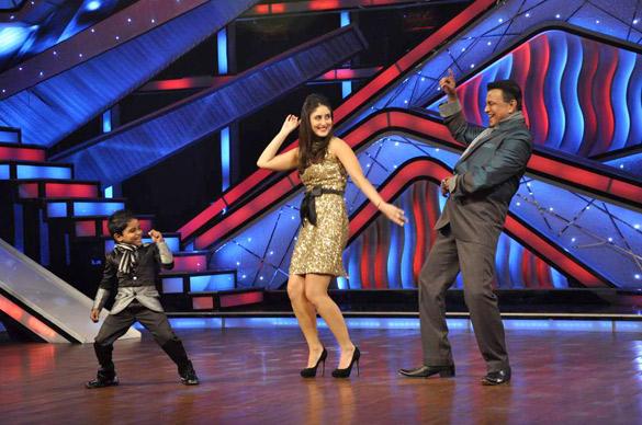 Mithun Dance With Kareena at DID Dance Ke Superkids Reality Show