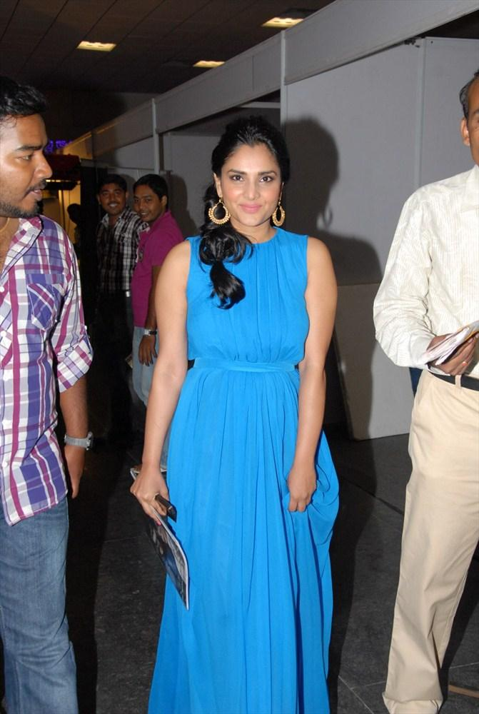 Ramya Spotted at South Spin Fashion Awards 2012