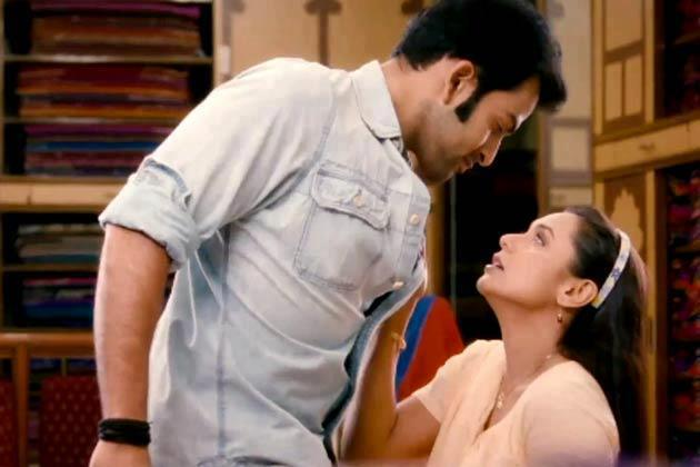 Rani Mukherjee and Prithviraj Hot In Aiyyaa