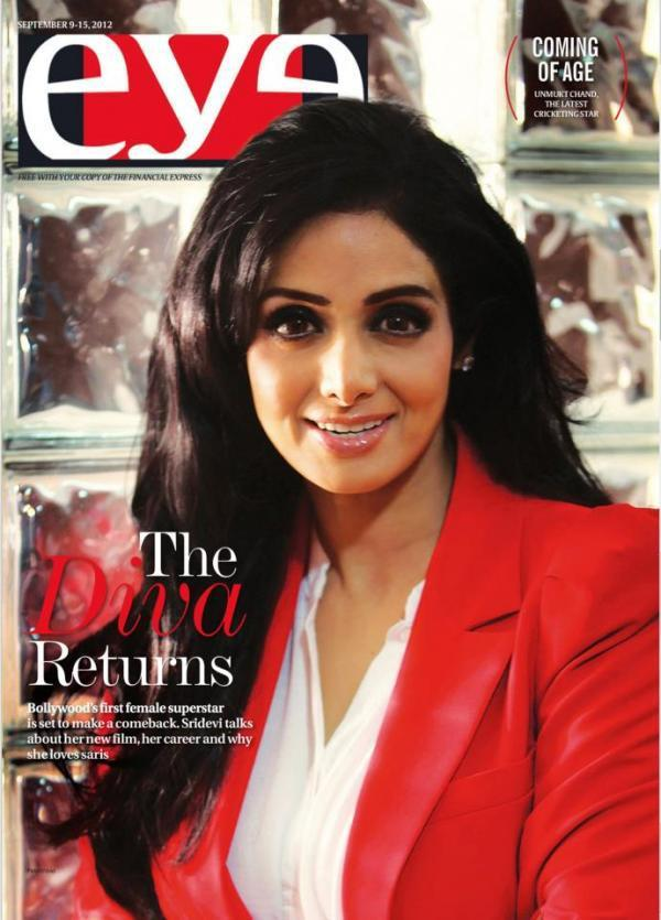 Sridevi On The Cover Of EyeThe Sunday Express