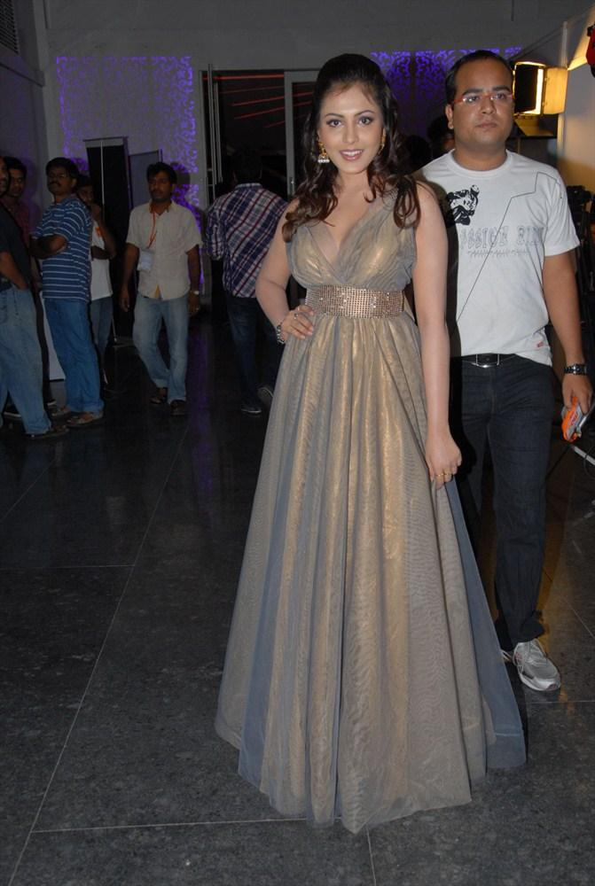 Madhu Shalini Awesome Still In Gorgeous Gown at  South Spin Fashion Awards 2012