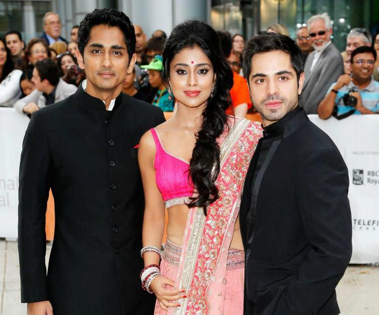 Shriya and Siddharth Latest Still During Toronto International Film Festival 2012