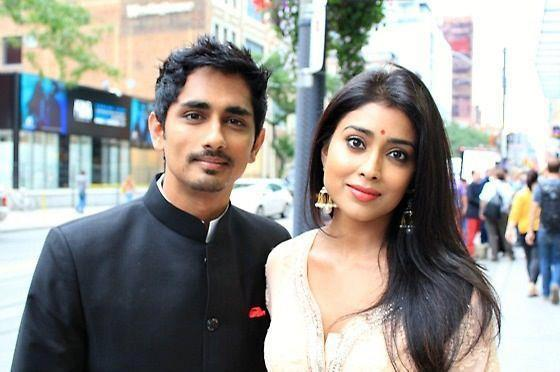Shriya and Siddharth Stunning Pic at Toronto International Film Festival