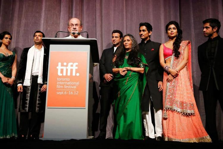 Shriya and Siddharth at Toronto International Film Festival 2012