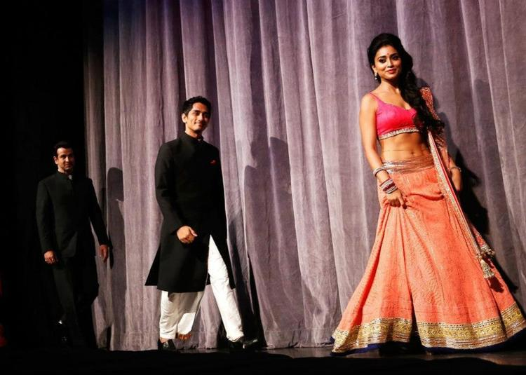 Shriya Saran Hot In Ghagra Choli at Toronto International Film Festival 2012