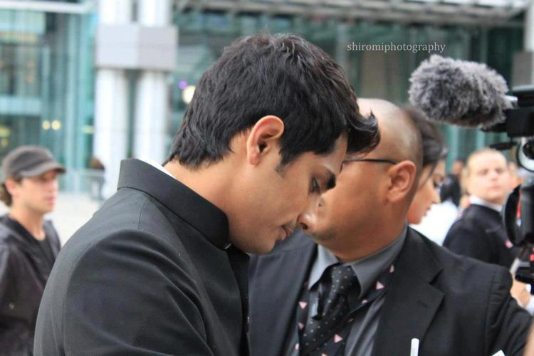 Siddharth Arrives Toronto International Film Festival 2012