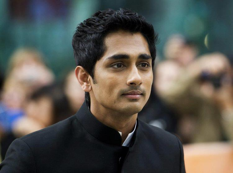 Siddharth Close Up Pic at Toronto International Film Festival 2012