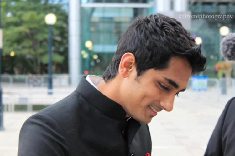 Siddharth During Toronto International Film Festival 2012