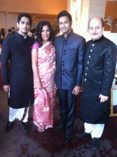 Siddharth With Other Celebs at Toronto International Film Festival 2012