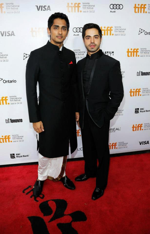 Siddharth On Red Carpet at Toronto International Film Festival