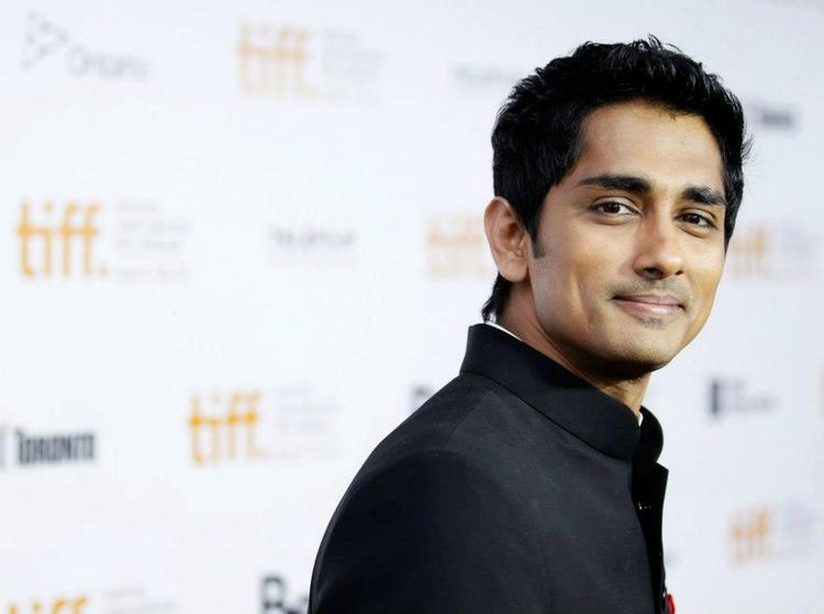Siddharth Sweet Smile Pic at Toronto International Film Festival 2012