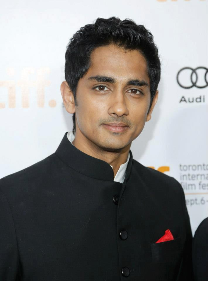 Siddharth at Toronto International Film Festival 2012