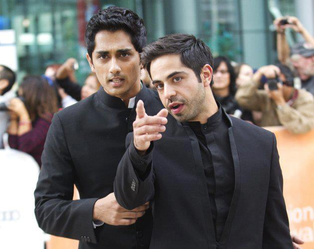 Siddharth at Toronto International Film Festival 2012