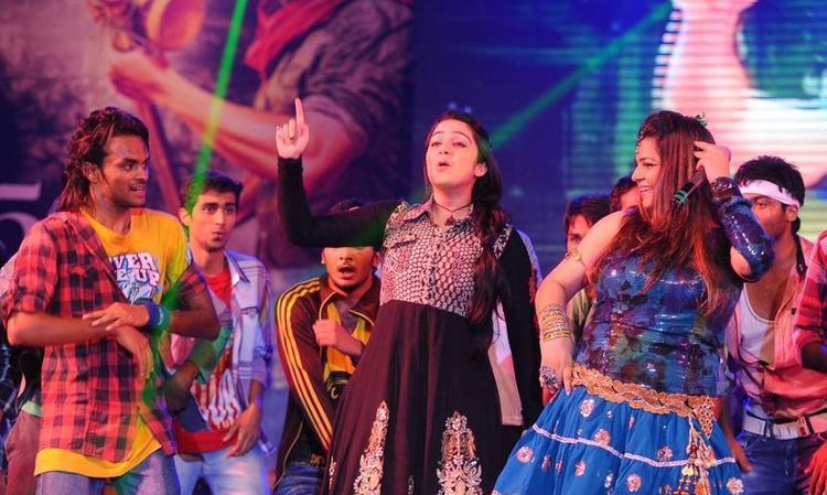 Charmi Dance at Damarukam Audio Launch Event