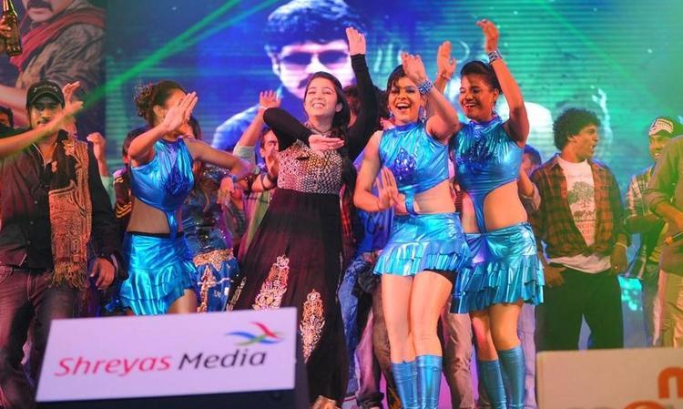Charmi Kaur Dance At Damarukam Audio Launch