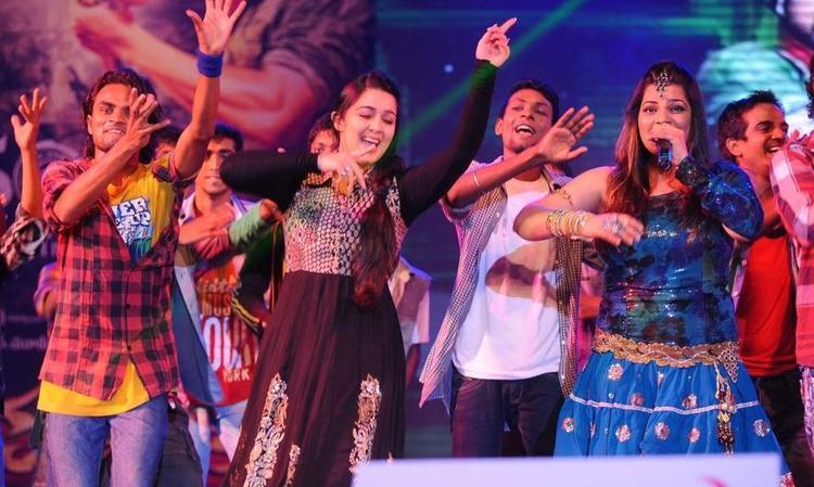Charmi Performs at Damarukam Audio Launch