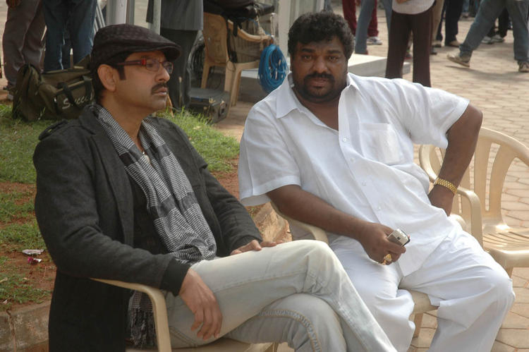 Jagapathi Babu On The Sets Of Upcoming Movie Operation Duryodhana 2