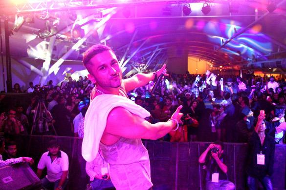 Honey Singh Latest Performance Still at Honey Singh's Live Concert