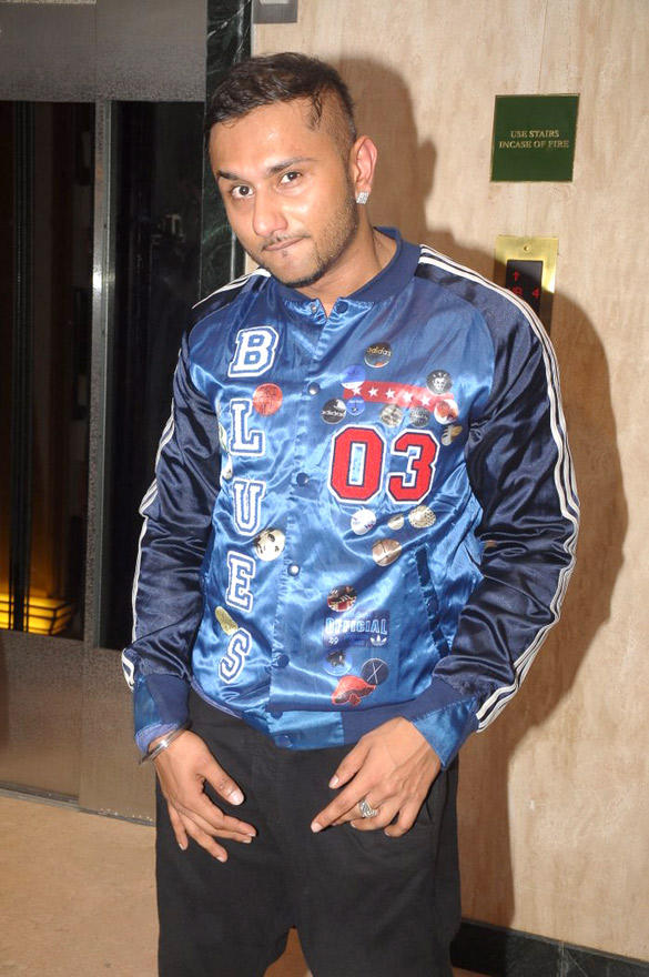 Honey Singh Spotted At Honey Singh's Live Concert