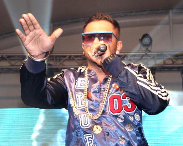 Honey Singh's Live Concert in Mumbai