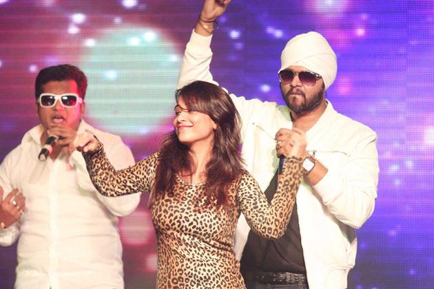 Other Celebs at Honey Singh's Live Concert