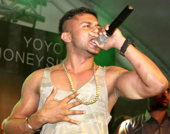 Punjabi Rapper Honey Singh Latest Performed Live in Mumbai