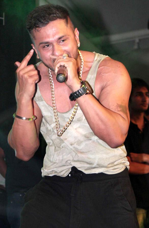 Punjabi Rapper Yo Yo Honey Singh Lately Performed Live in Mumbai