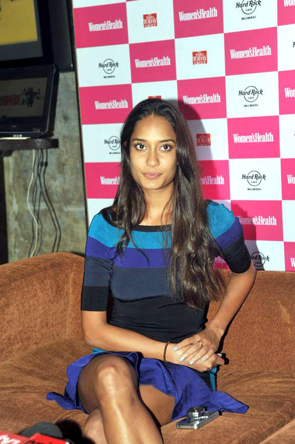 Lisa Haydon at The Launch Of Women's Health Magazine's Latest Issue