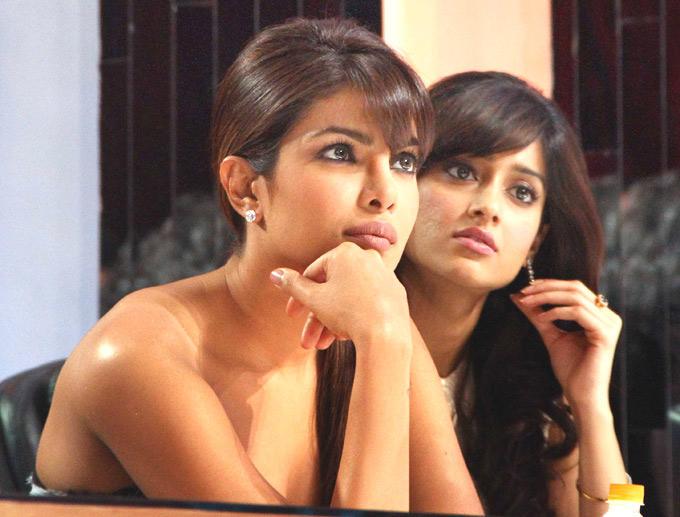 Priyanka and Ileana Shocking Face Look at Jhalak Dikhhla Jaa Show