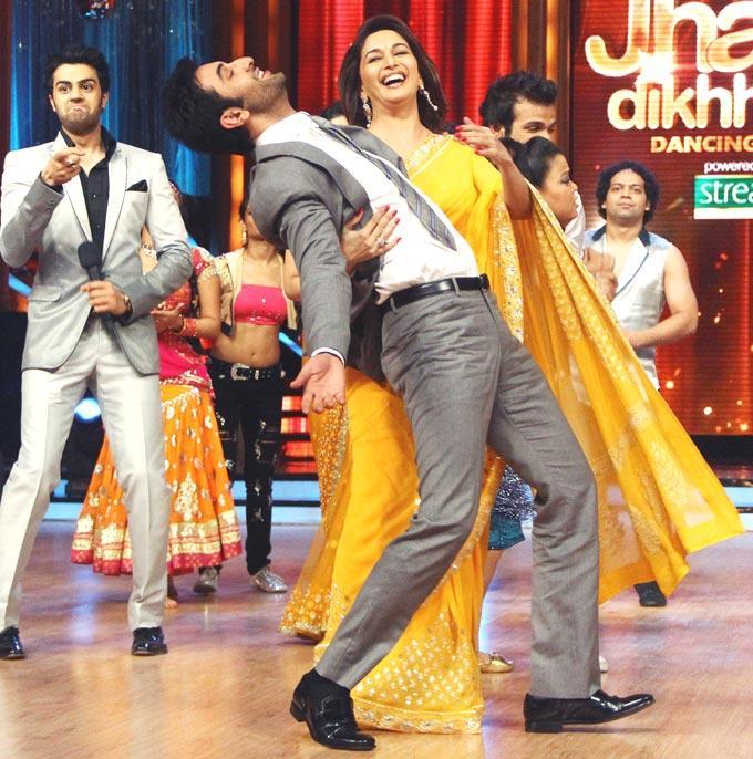 Ranbir and Madhuri Latest Performance Still at Jhalak Dikhhla Jaa Show
