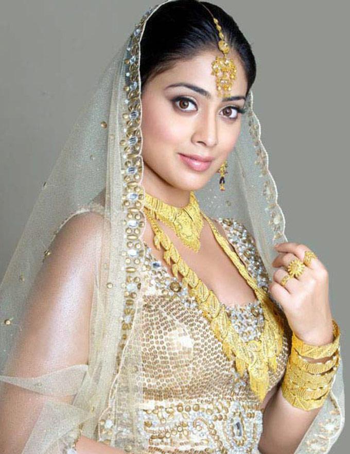 Shriya Saran Bridal Look Photo Shoot