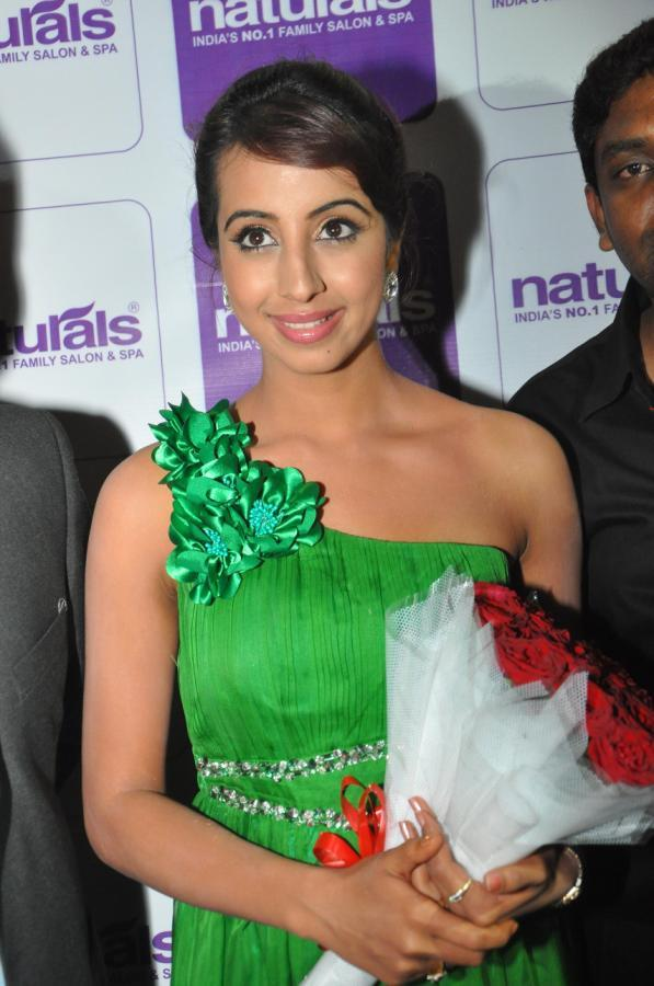 Sanjana at Naturals Family Salon and Spa Launch Event